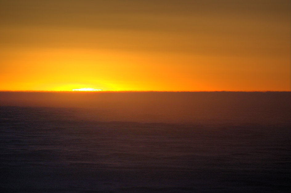 First sunrise at Concordia