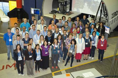 Participants and organisers of ESA's Summer Workshop for Teachers 2013
