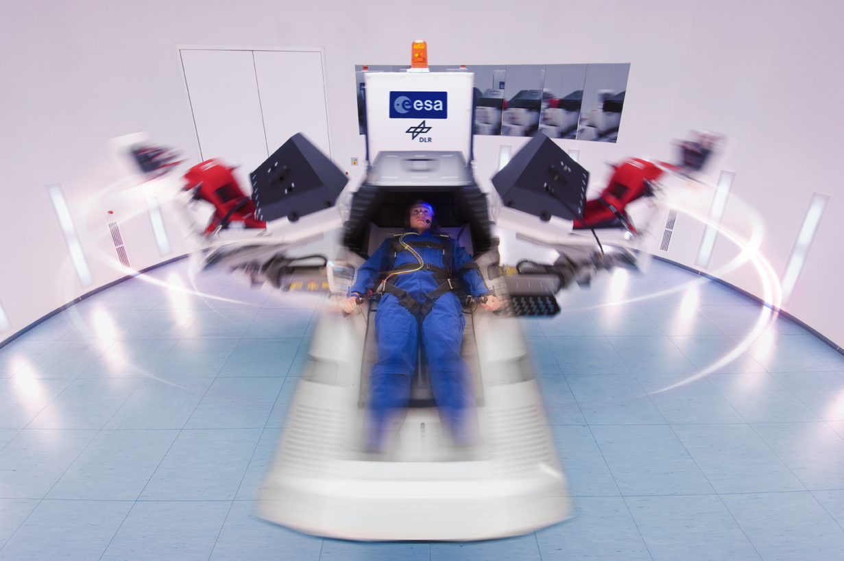Space in Images - 2013 - 08 - Short-Arm Human Centrifuge