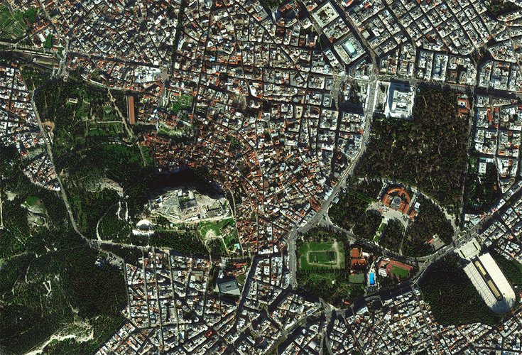 Athens, the capital and largest city of Greece