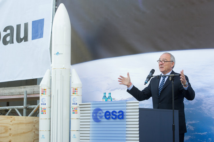 ESA Director General Dordain