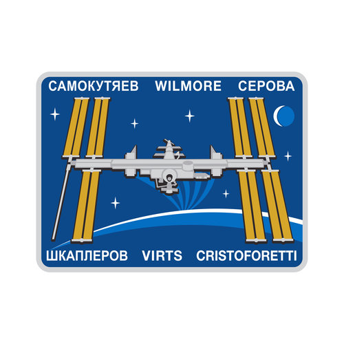 ISS Expedition 42 patch, 2014
