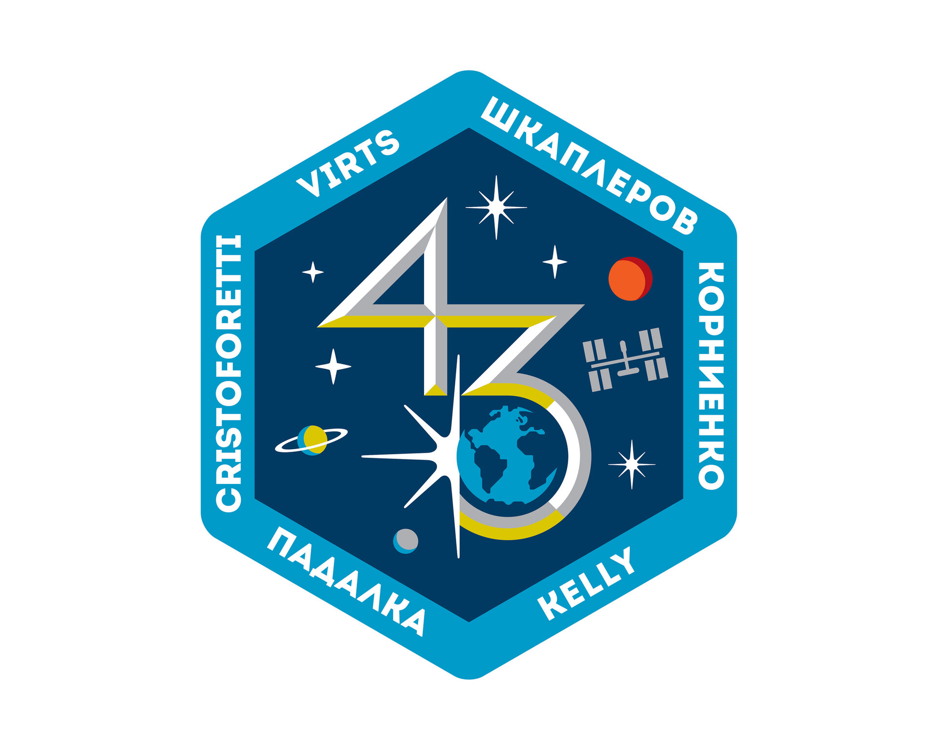 ISS Expedition 43 patch, 2015