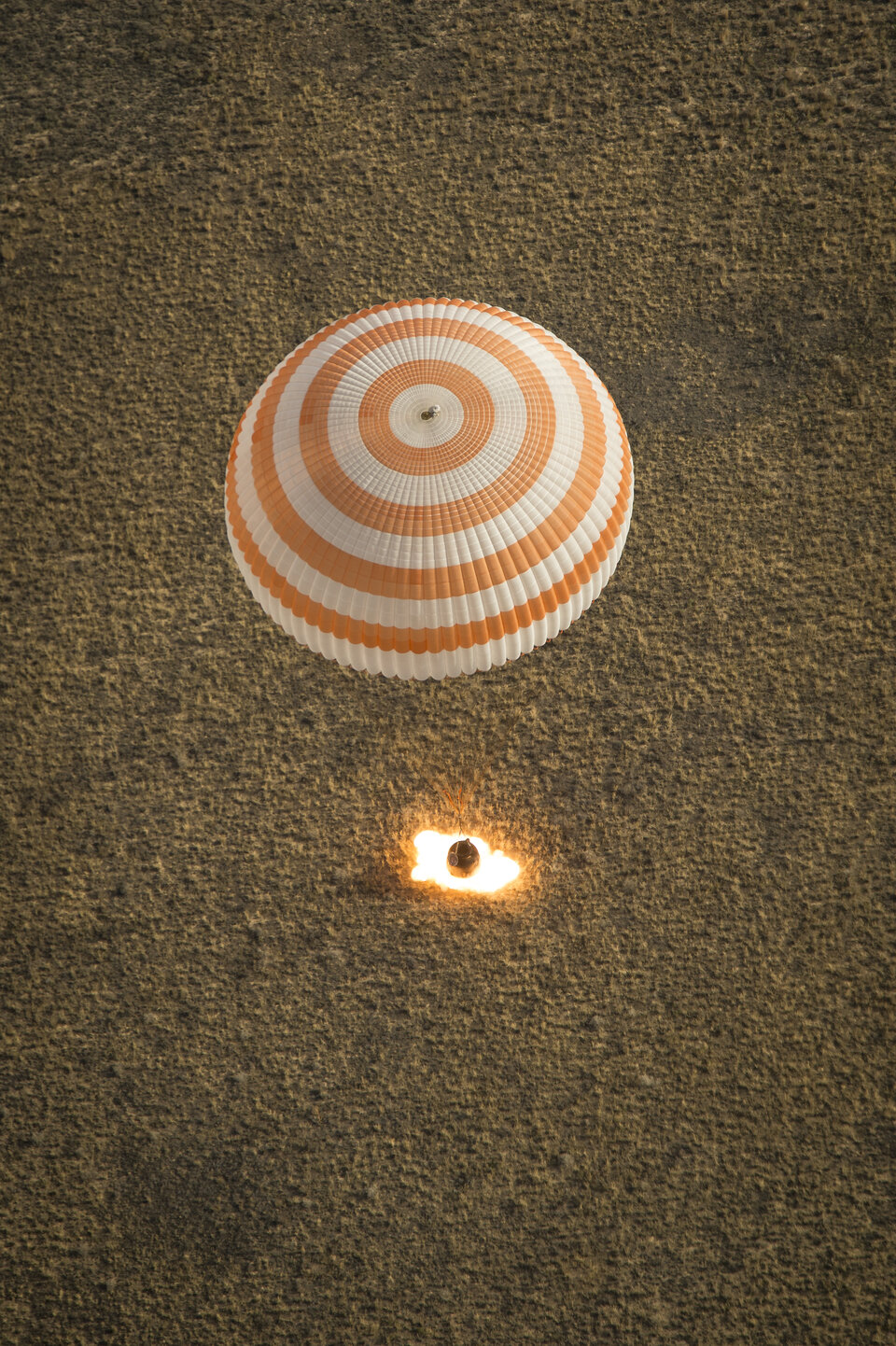 Previous Soyuz landing