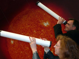 Teachers can use astronomy to teach sciences and maths