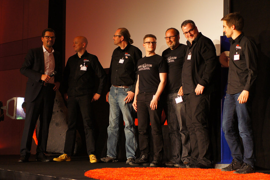 TEDx RocketMinds; TEDxRheinMain team