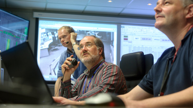 ESA and industry experts at ESOC provide realistic training for the teams flying Gaia through its most risky hours