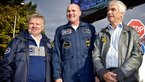 [2/10] Astronauts Reinhold Ewald, André Kuipers and Ulf Merbold