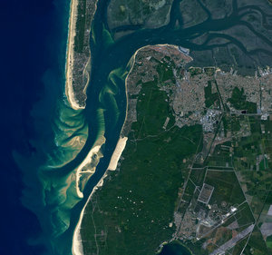 The Arcachon Bay in France's southwest Aquitaine region
