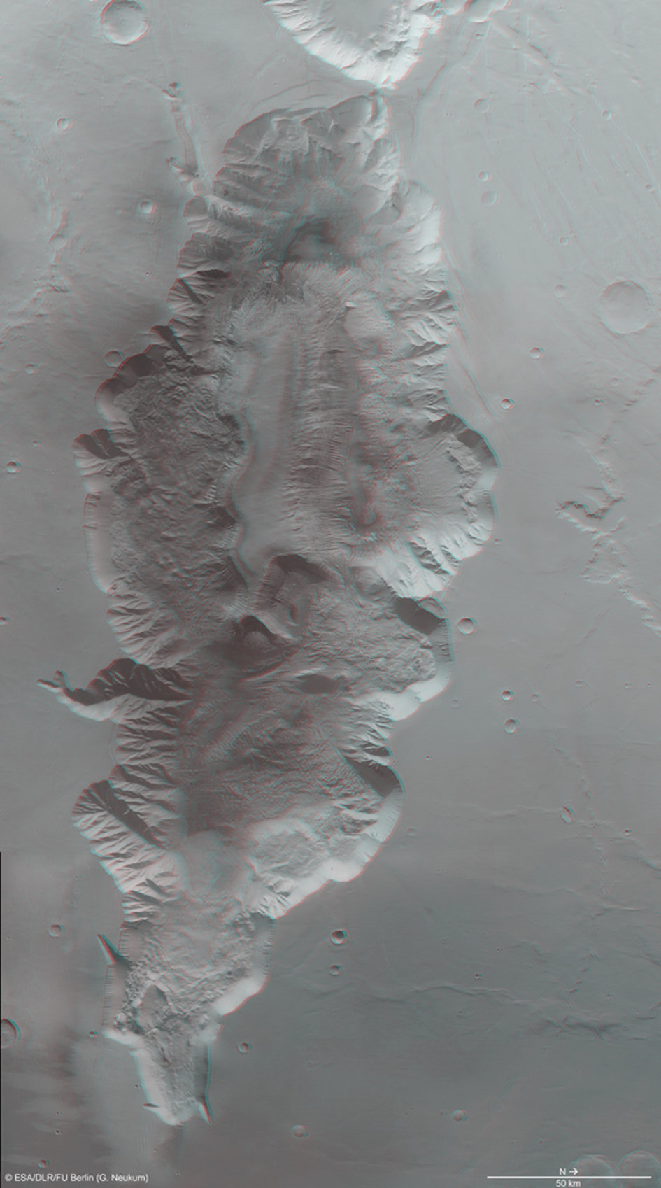 Hebes Chasma 3D