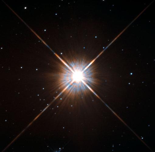 Proxima Centauri, our nearest neighbour