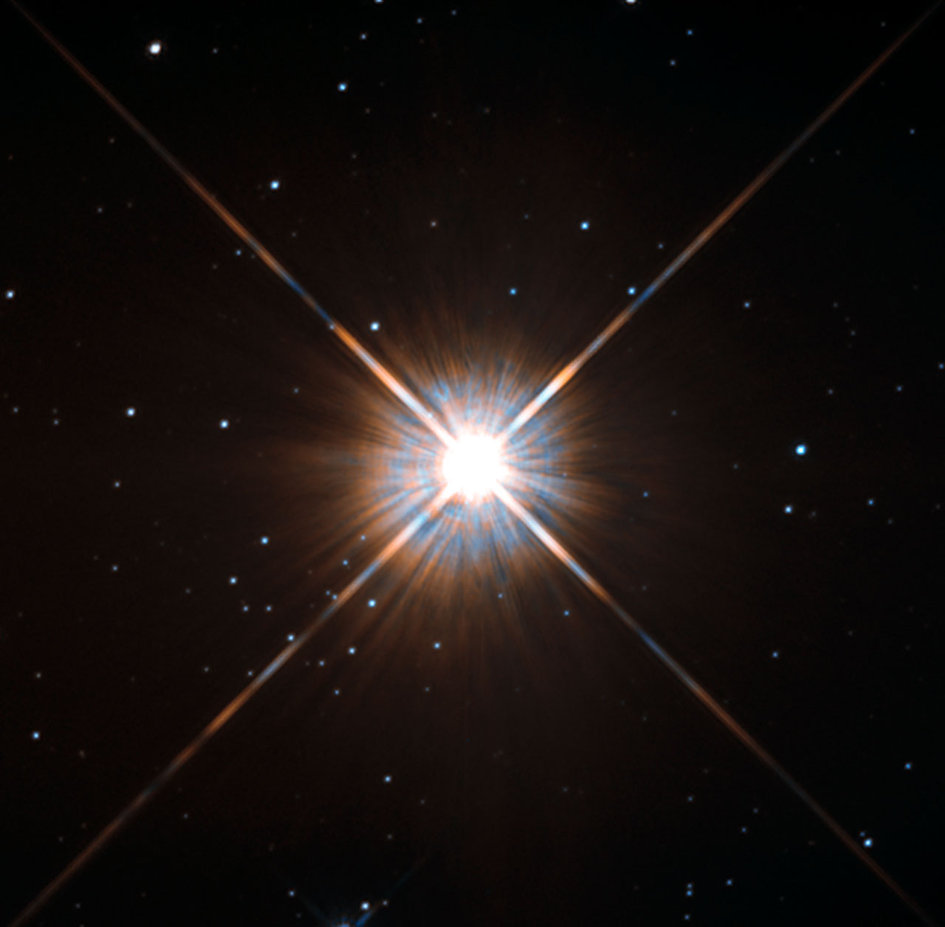 Proxima Centauri, our nearest neighbour