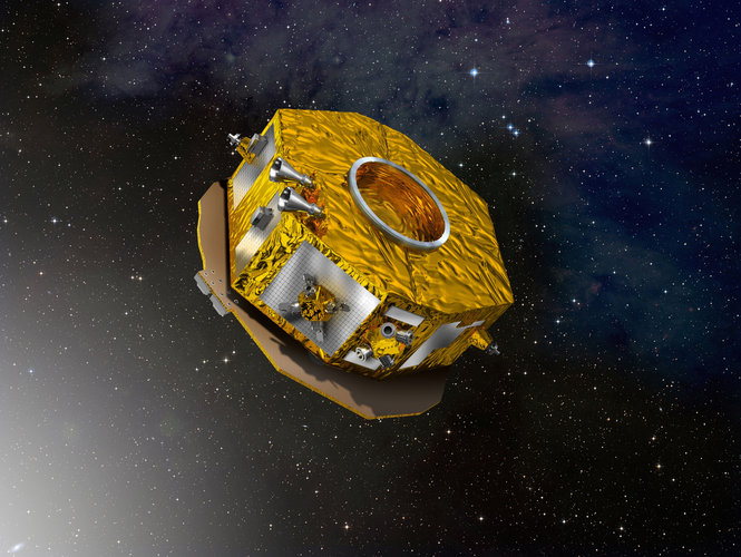 Artist's impression of LISA Pathfinder