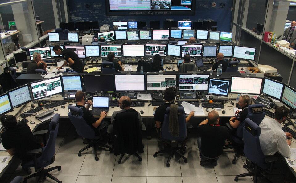 Agenda 2025 ESA Control centre ESA Credit: ESA