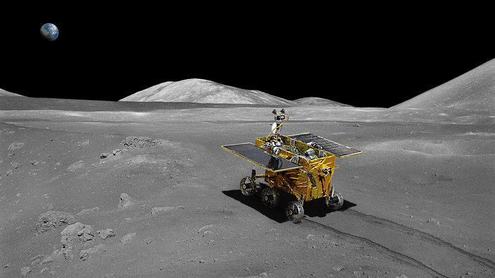 Photos from chinese moon rover #1