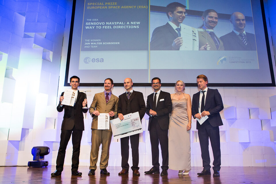 ESA Innovation Prize 2013 winners