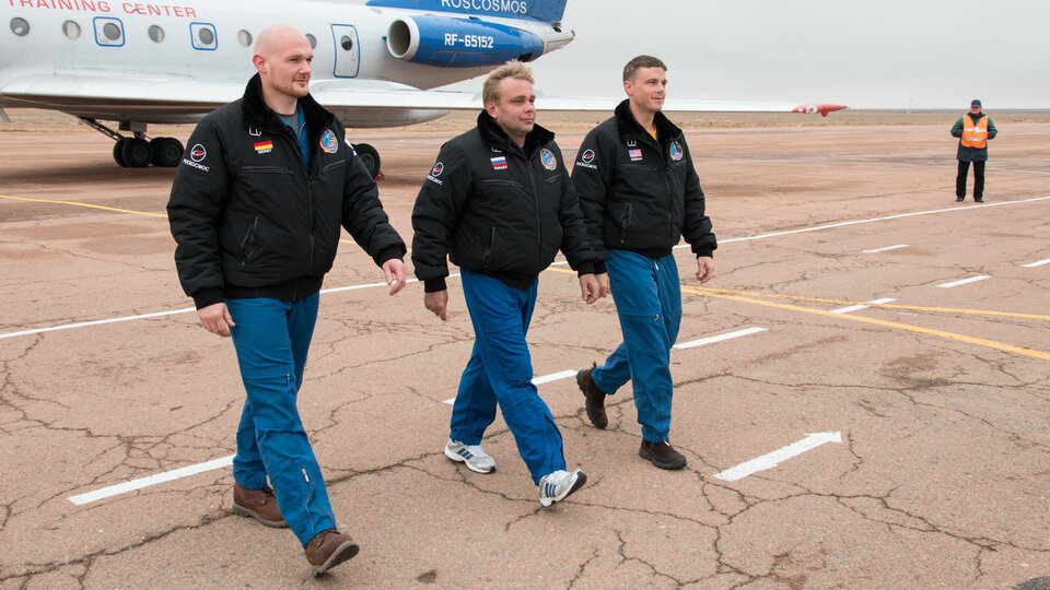 Expedition 40/41 crew