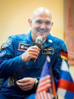 Expedition 38 backup crew member Alexander Gerst
