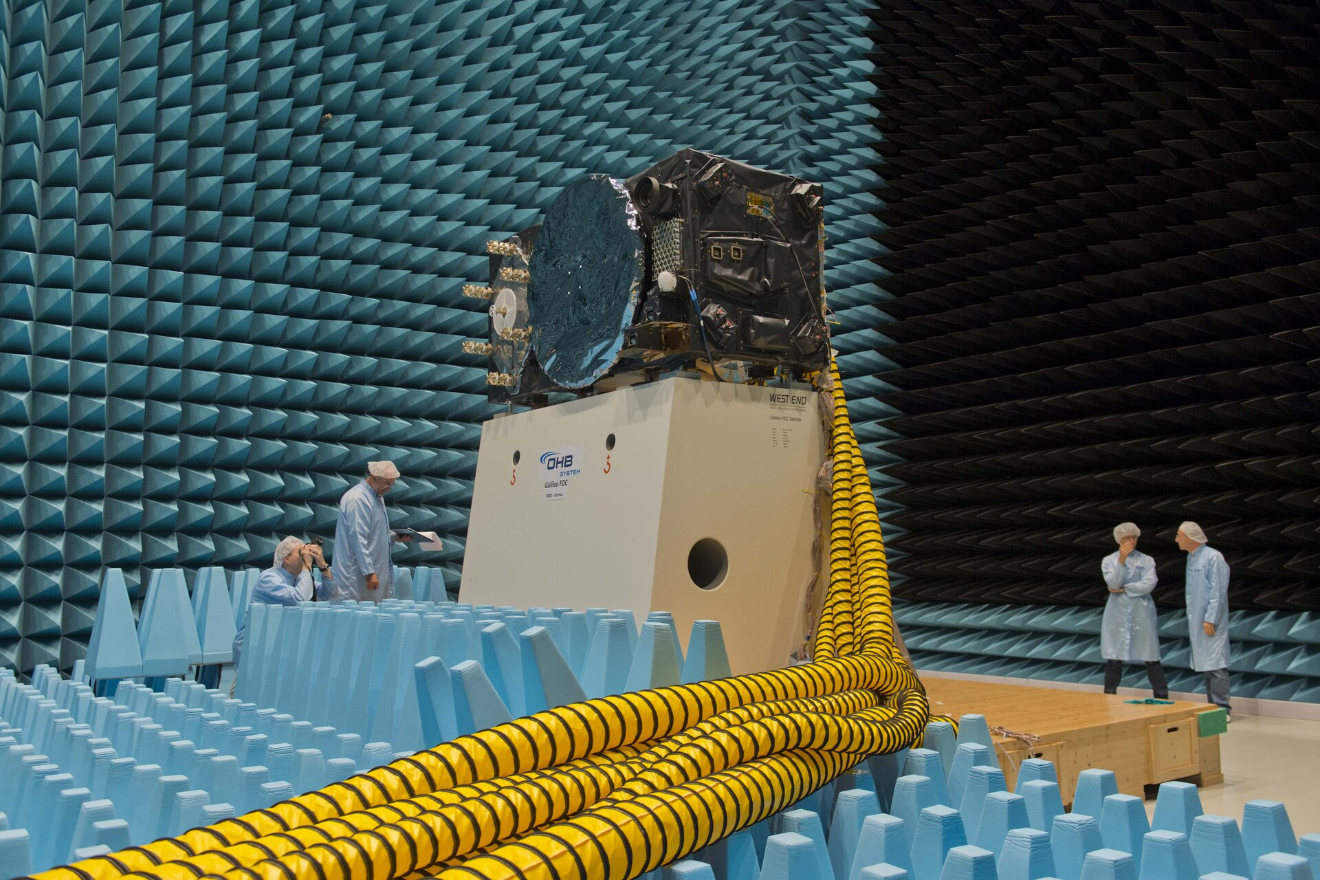 FM1 electromagnetic compatibility testing