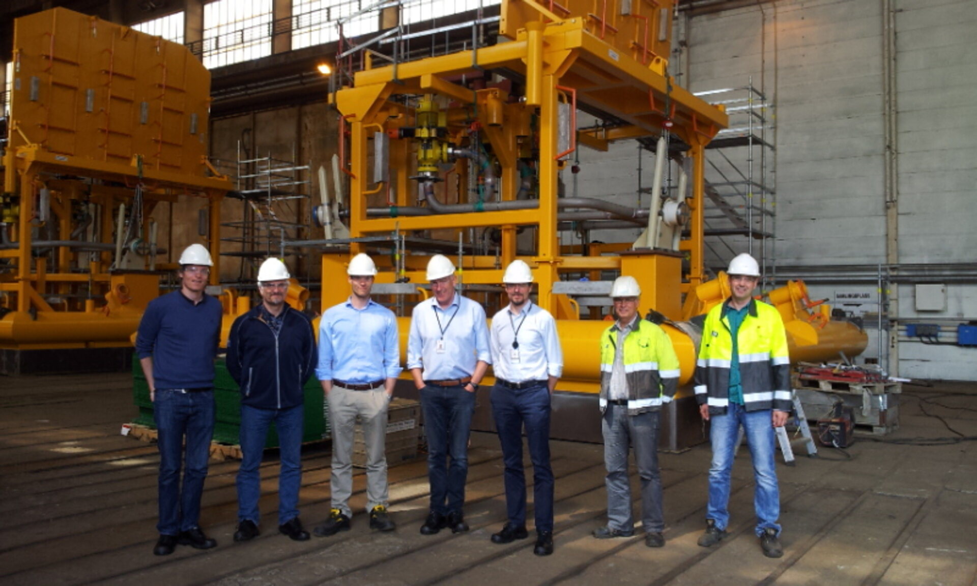 Jotne team with sub-sea oil rig structure