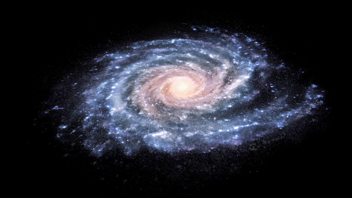 milky way from space - photo #6