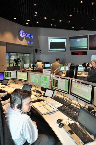 Mission control room