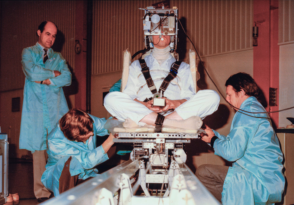Spacelab-1 Sled experiment, 1981