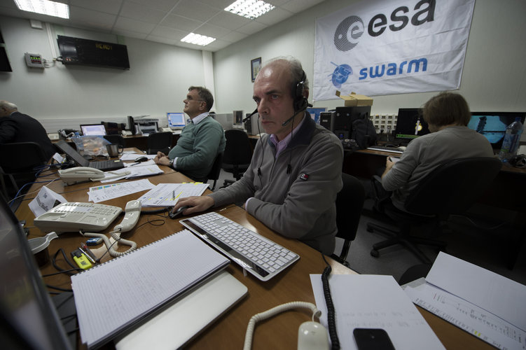 Swarm final 'dress rehearsal' countdown, Plesetsk cosmodrome