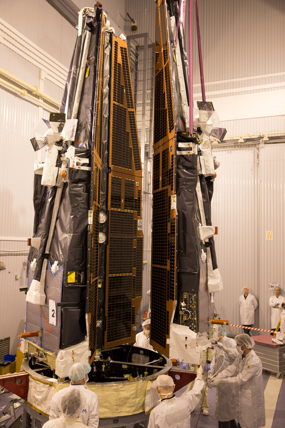 Third satellite joins adapter