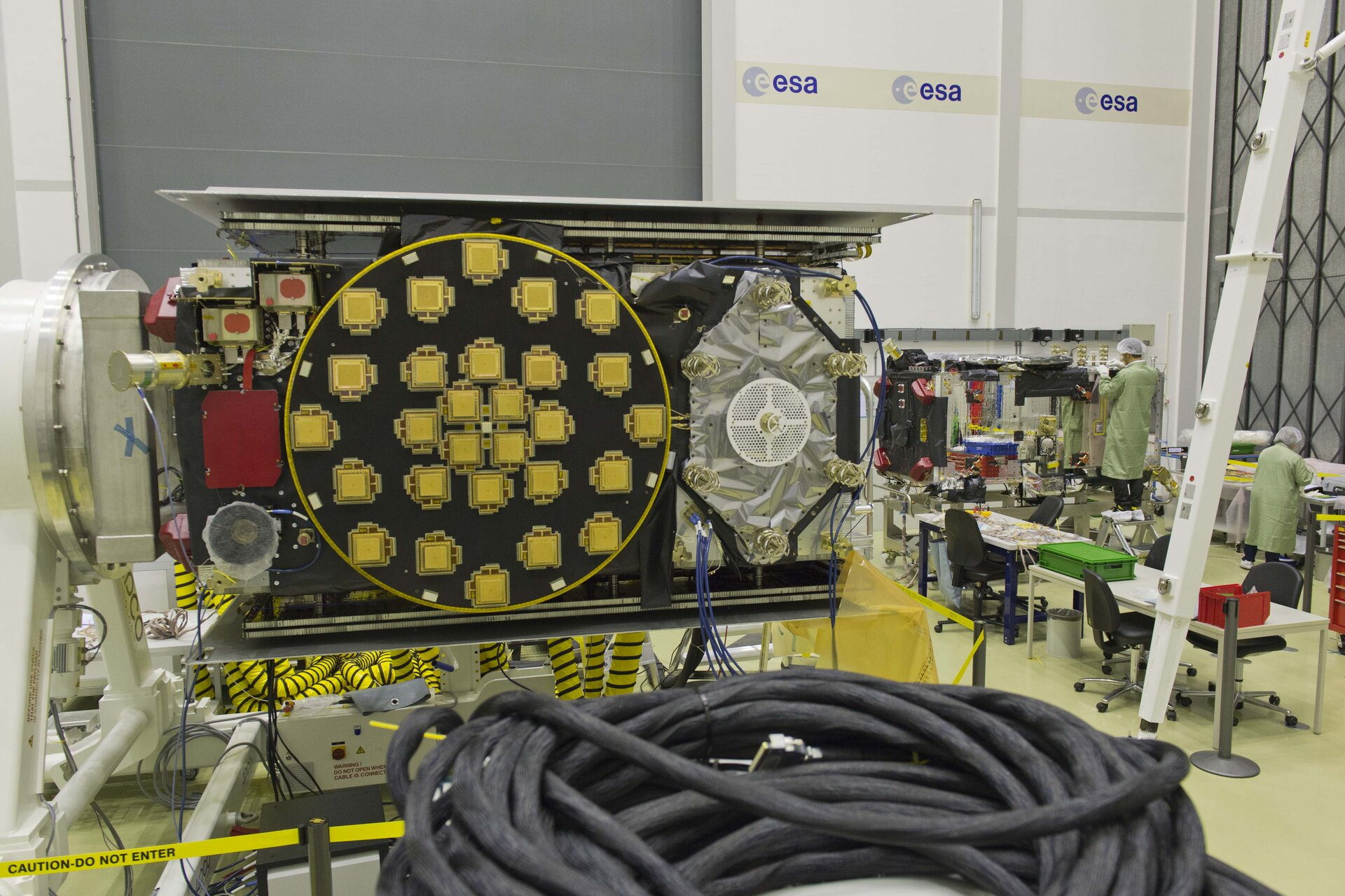 Two Galileo FOC satellites together