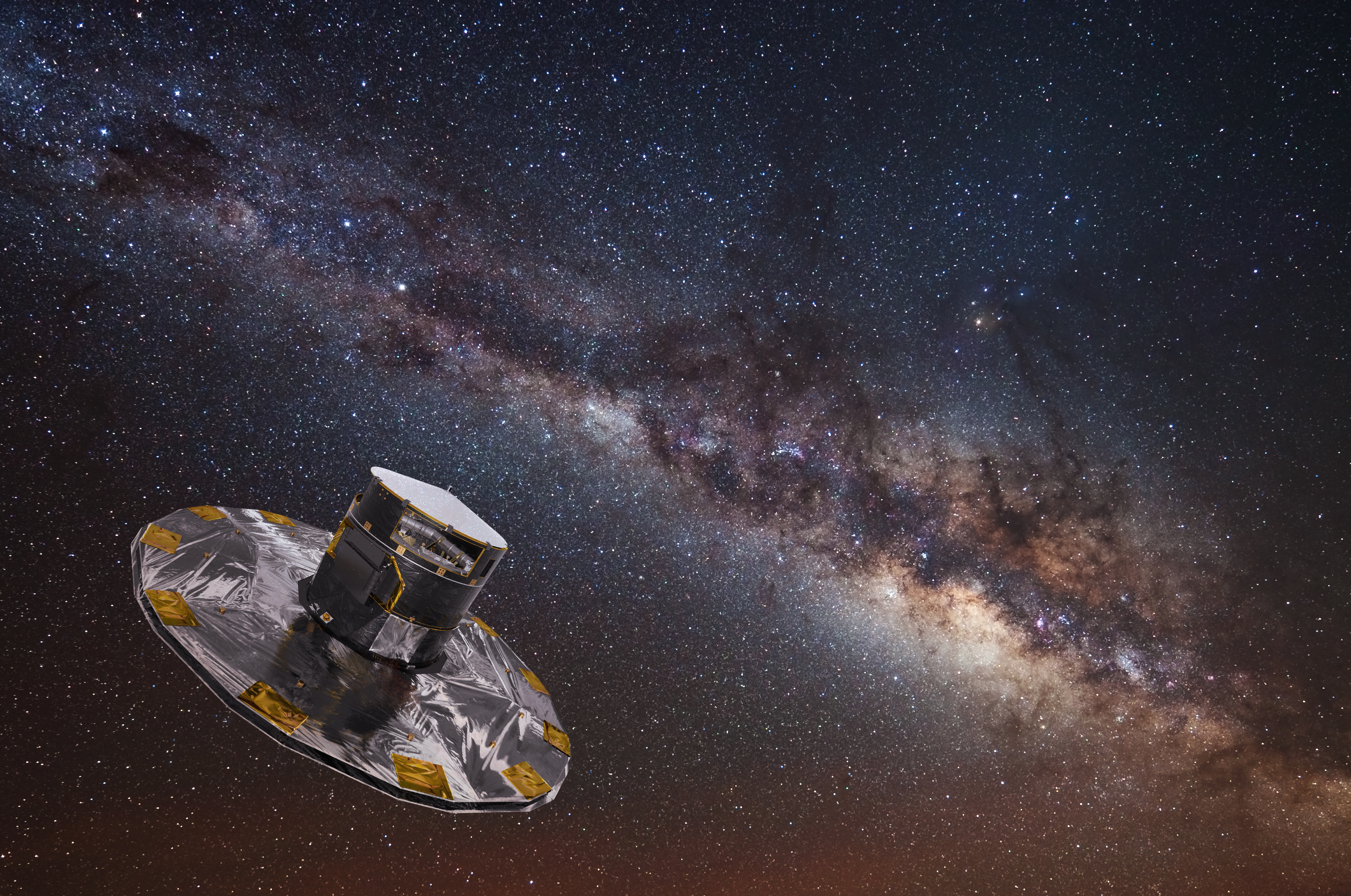 Gaias Billionstar Map Hints At Treasures To Come Gaia Space - Stars map from us