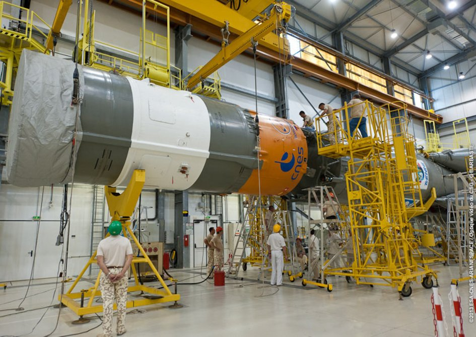 Preparing Gaia's launch vehicle