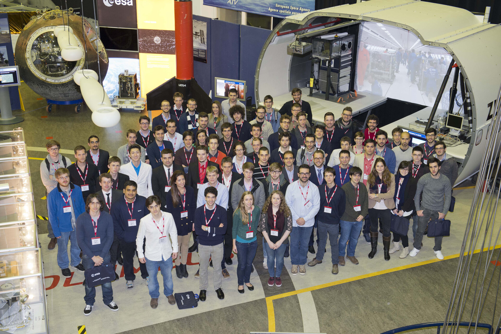 REXUS/BEXUS selection workshop group picture