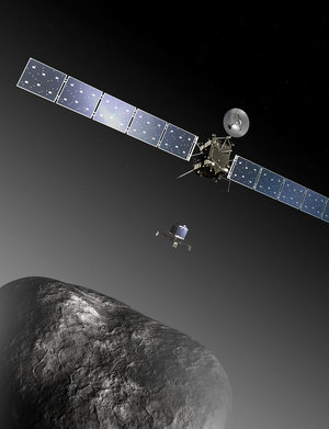 Rosetta and Philae at comet