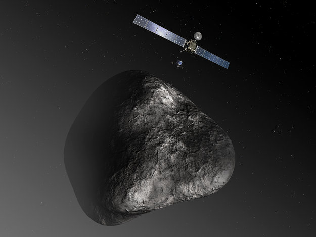 Rosetta and Philae at their destination
