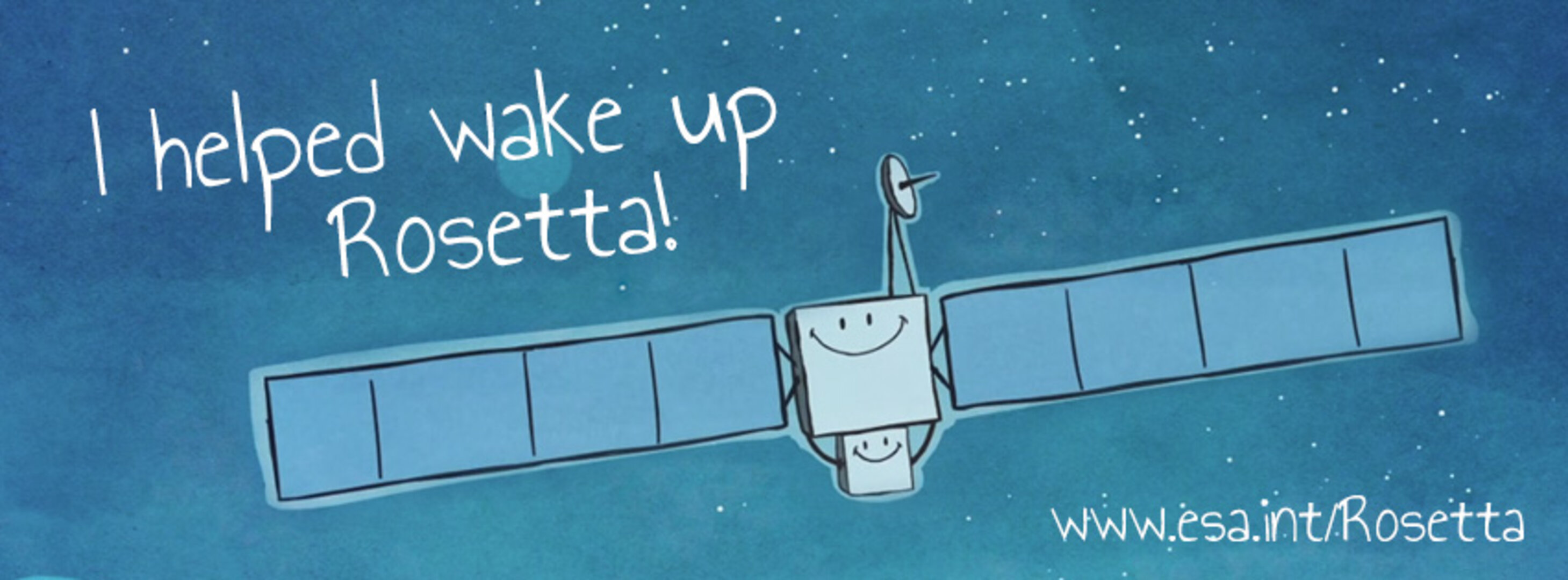 I helped wake up Rosetta!