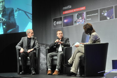 Joel Parker and Holger Sierks talk about Rosetta's ALICE and OSIRIS instruments