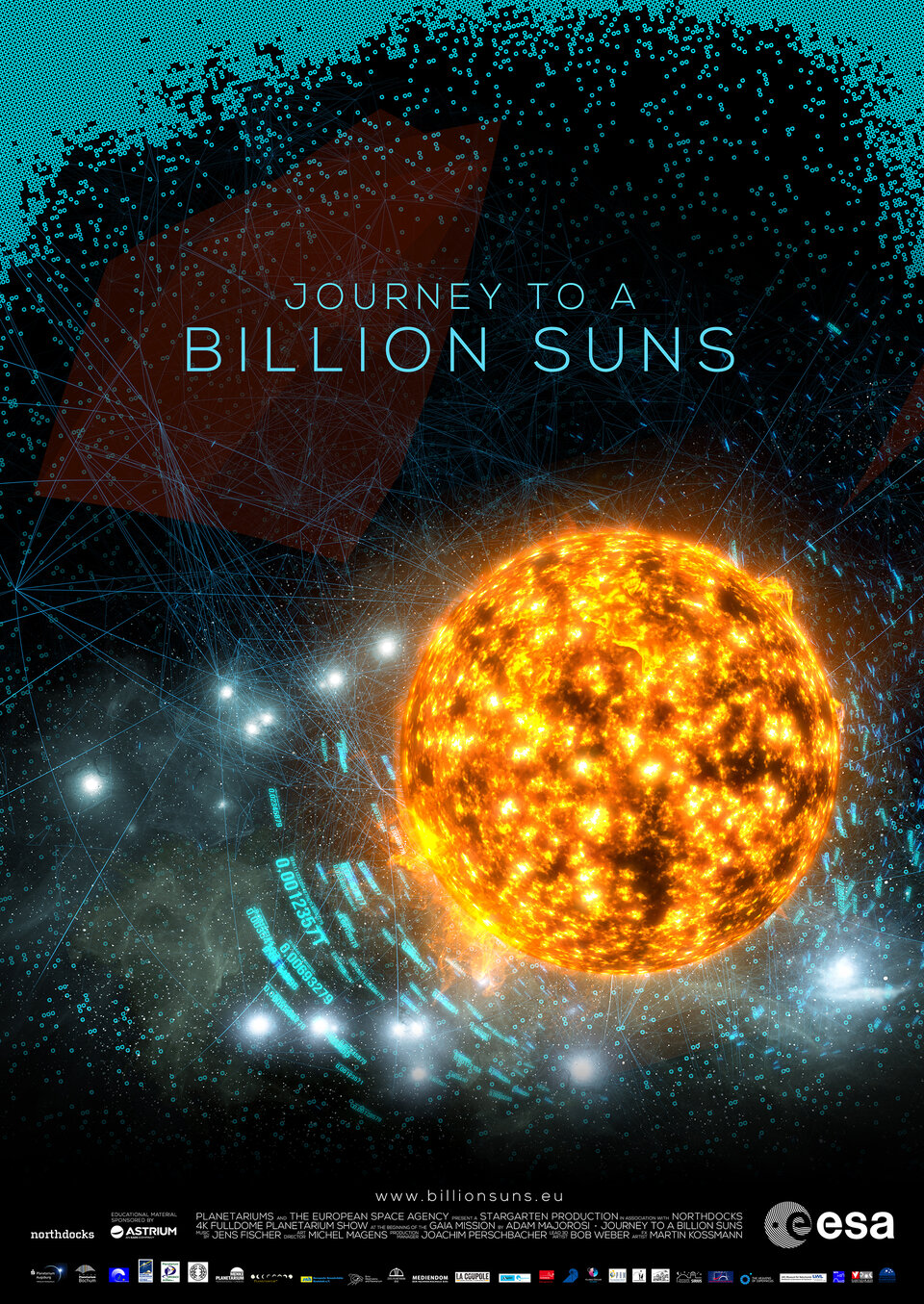 Journey to a billion suns poster
