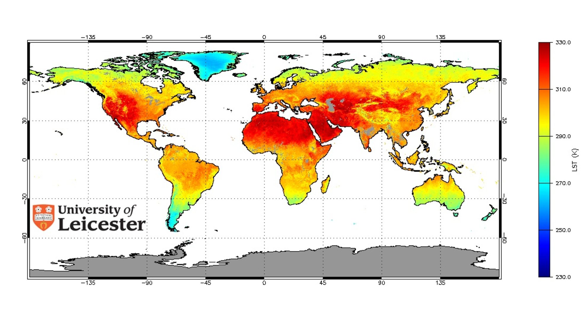 Land surface temperature