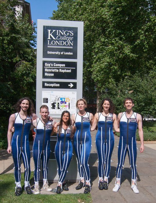 Testing SkinSuit at Kings College. Credits: Kings College London, Centre for Human Aerospace Physiological Sciences