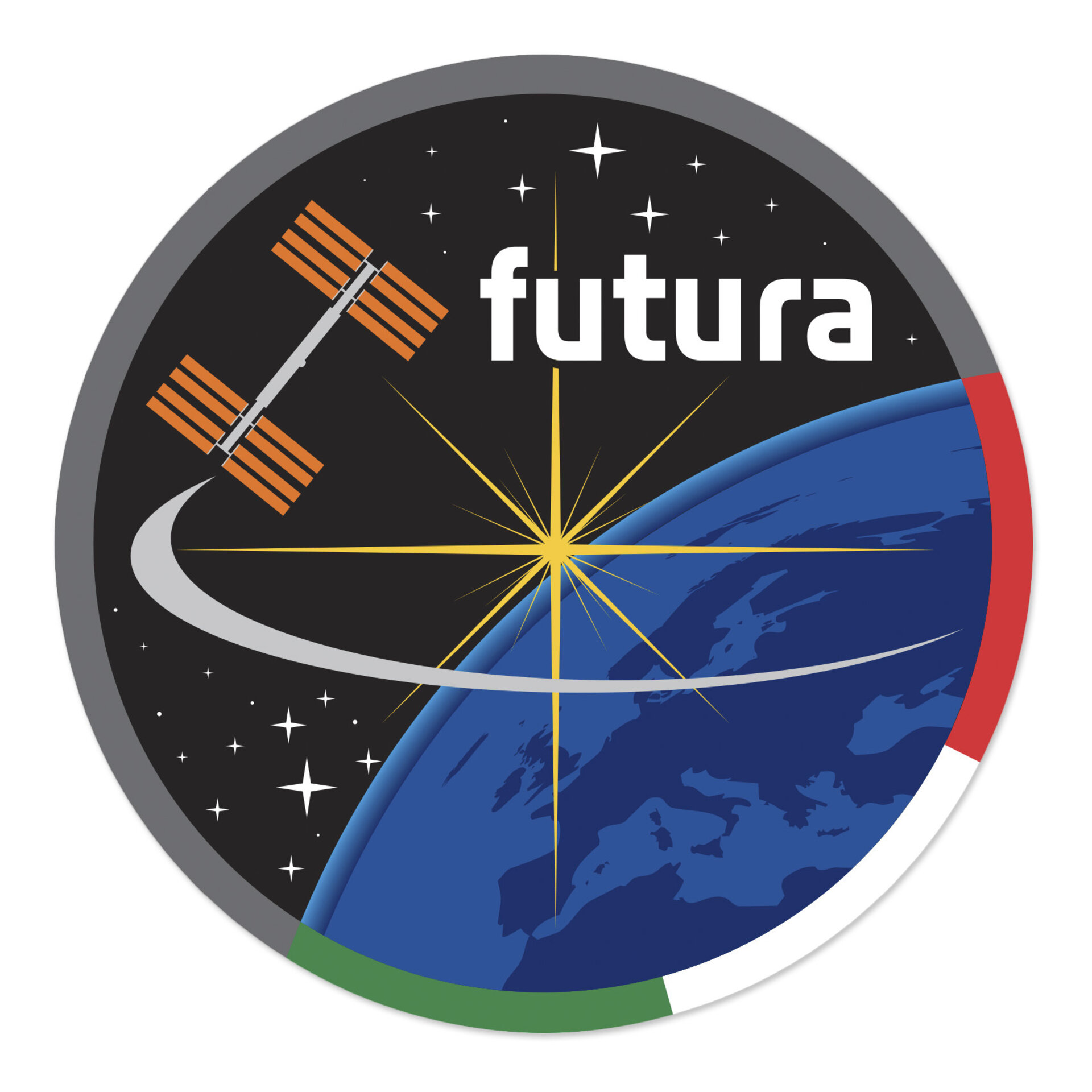 Soyuz TMA-15M, Futura mission patch, 2014