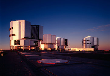 ESO's 8.2-metre Very Large Telescope, Chile