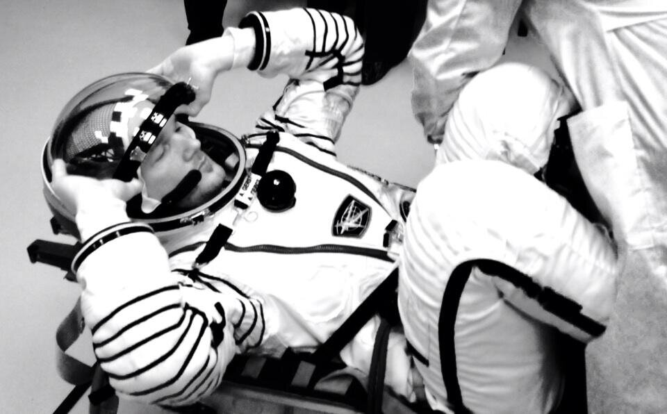 Testing spacesuit