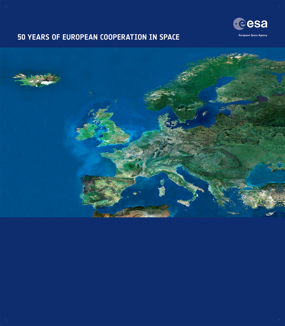 English backdrop for 50 years of European cooperation in Space