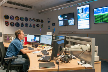 EUROCOM answering calls from the astronauts onboard the ISS