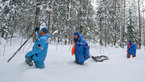 [11/38] Expedition 40/41 prime crew during winter survival training
