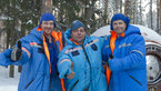 [10/38] Expedition 40/41 prime crew during winter survival training