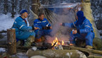 [35/38] Expedition 46/47 prime crew during winter survival training