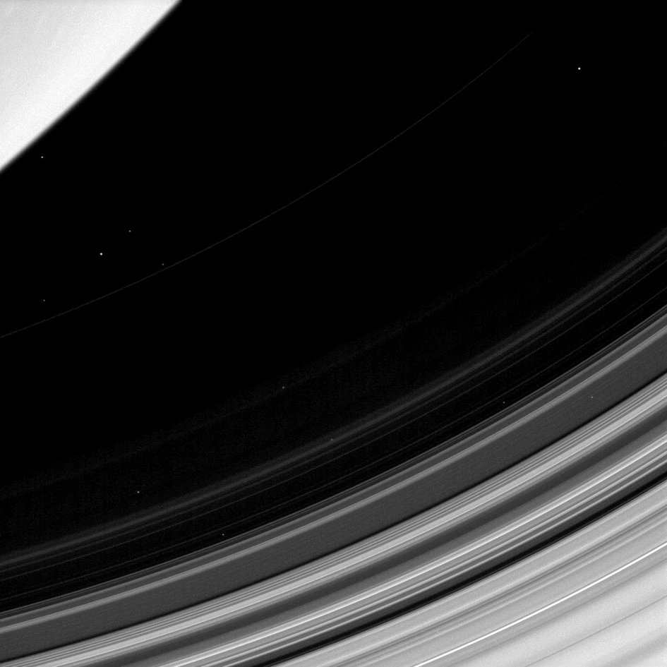 Saturn's dusty D ring