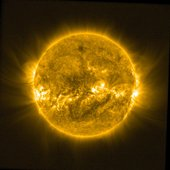 ESA's Sun-watching Proba-2 minisatellite shows the aftermath of 18 February 2014's 'coronal mass ejection'